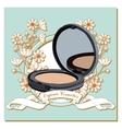 organic Cosmetics vector image vector image
