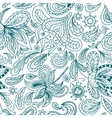 Ornamental Indian Pattern vector image vector image