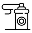 paint spray bottle icon outline style vector image vector image