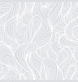 seamless abstract light hand drawn pattern vector image vector image
