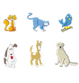 animals cute vector image vector image