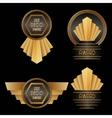 Art Deco Awards vector image