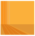 background orange abstract vector image