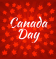canada day dark red background rays from the vector image