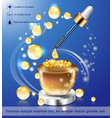 coenzyme q10 vector image vector image
