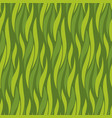 green wave seamless pattern vector image