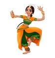 Indian Dancer2 vector image vector image