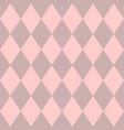 pink tile pattern vector image vector image