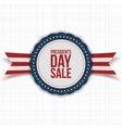 Presidents Day Sale national Banner with Text vector image