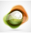 translucent shapes vector image