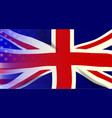 union jack stars and stripes vector image vector image