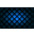 Blue square background box overlap layer vector image