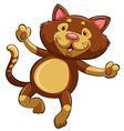 A kitten vector image vector image