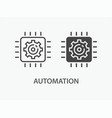 automation icon for graphic