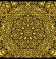 mandala pattern background vector image vector image