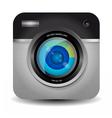 Photo Camera App Icon vector image vector image
