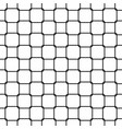 seamless abstract black and white rounded square vector image vector image