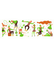 st patricks day horizontal banner template vector image vector image