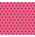 watermelon seeds color background pattern vector image