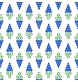Grapes Seamless Pattern vector image