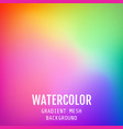 abstract colored bright gradient mesh oriental vector image