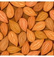 almonds seamless background vector image
