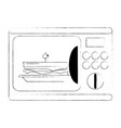 electric oven appliance vector image