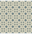 retro floor tiles pattern vector image vector image