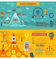 Startup Infographics Set vector image