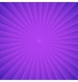 Violet rays carnival background vector image vector image