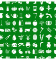 farm and farming simple icons set seamless pattern vector image vector image
