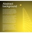 Gold jumping ball vector image vector image
