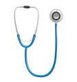 medical stethoscope tools for doctor healthcare vector image