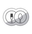 Restaurant cutlery utensils vector image vector image