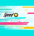 speed backdrop abstract blue fast motion vector image
