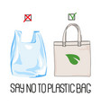 stop plastic earth global ecological environmental vector image
