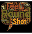Your Golf Score is determined by Feel text vector image vector image