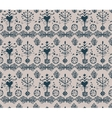 absatrct vintage seamless pattern vector image vector image