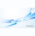 abstract blue background technology vector image