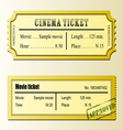 Cinema movie tickets vector | Price: 1 Credit (USD $1)