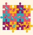 dino puzzle 1 38 vector image