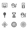 game icons vector image vector image