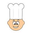 Happy cook vector image vector image