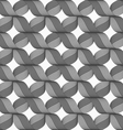 Ribbons gray crosses pattern vector image vector image