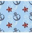 Sea Seamless Pattern Color vector image vector image