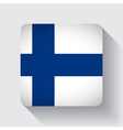 web button with flag finland vector image vector image