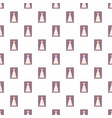 wedding dress pattern vector image