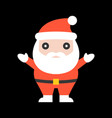 cute santa claus for christmas vector image
