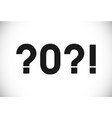 2021 crisis logo monochrome vector image vector image