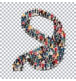abstract business symbol people Transparency vector image